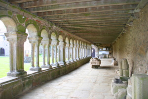 Romanesque Cloisters at the Abbaye de la Grainetiere