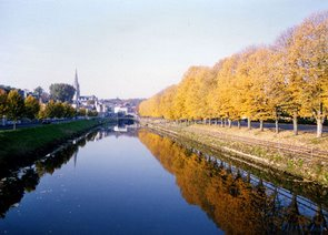 Fontenay le Comte and the River Vendee