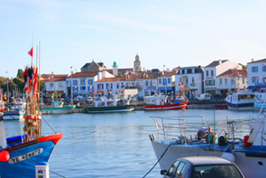 Port Joinville harbour, Ile d'Yeu