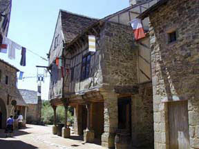 15th Century village at the Puy-du-Fou