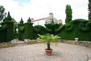 Jardin du batiment at thire vendee for Jardin william christie