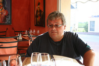Tate at Le Minage restaurant in St.Hermine