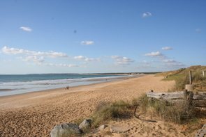 Beach at Le Rocher, Longville-sur-Mer