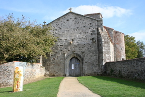 Mesnard la Barotiere, Church of St.Christophe