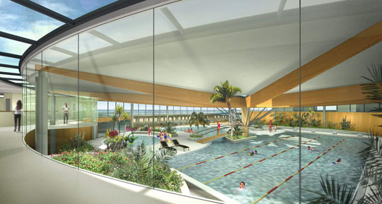 Oceabul aquatic centre at st jean de monts for Piscine st jean de monts
