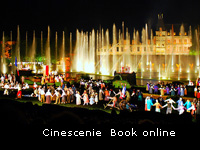 Go online to book the Cinescenie at the Puy du Fou