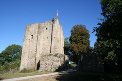 Medieval castle of Pouzauges