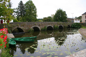 Bridge on the Boulogne at Rocheserviere