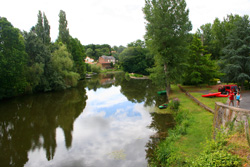 River Lay at Mareuil-sur-Lay.