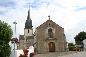 The Church Soullans Vendee