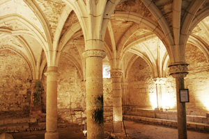 Chapter House, Abbaye Royale, St.Michel-en-l'Herm