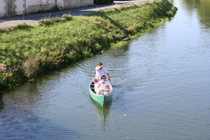 Canoeing on the Marais Poitevin